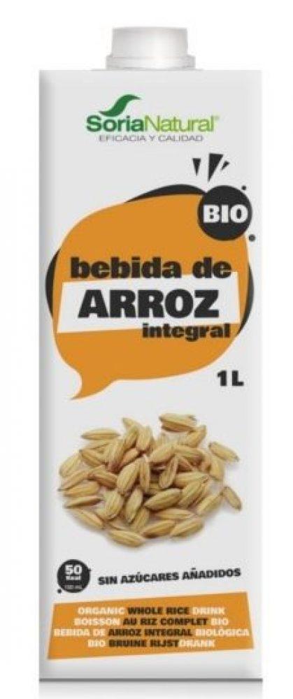 BEBIDA DE ARROZ INTEGRAL BIO 1L SORIA NATURAL