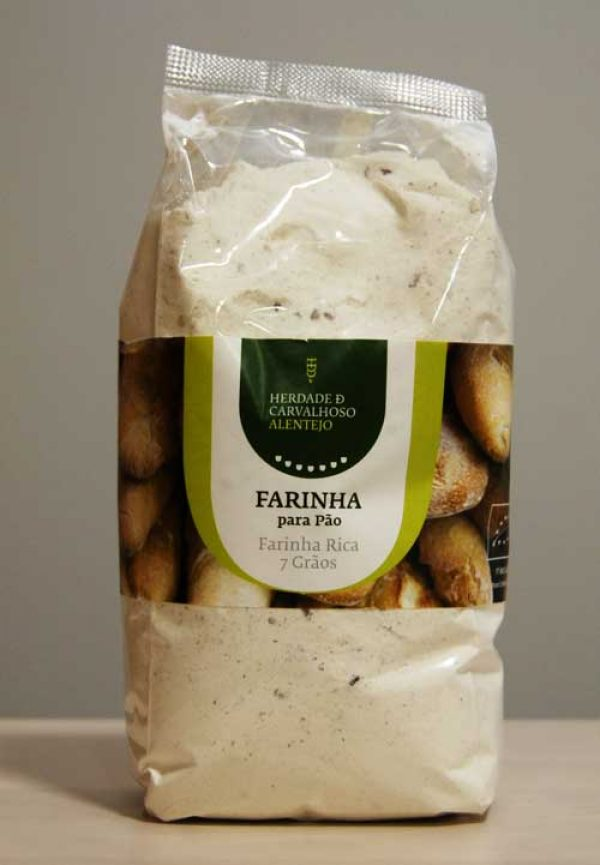 Farinha bio pão 7 grãos HC