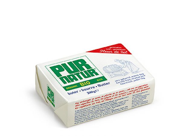 Manteiga bio Pur natur c/ sal