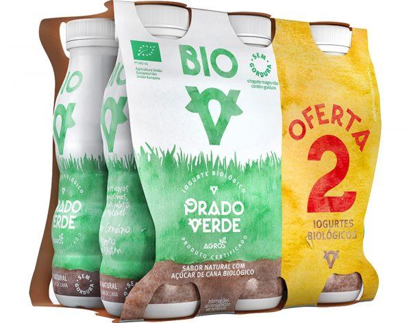 iogurte açucarado liquido prado verde