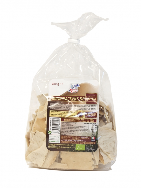 Mini Crackers 100% Espelta 250gr