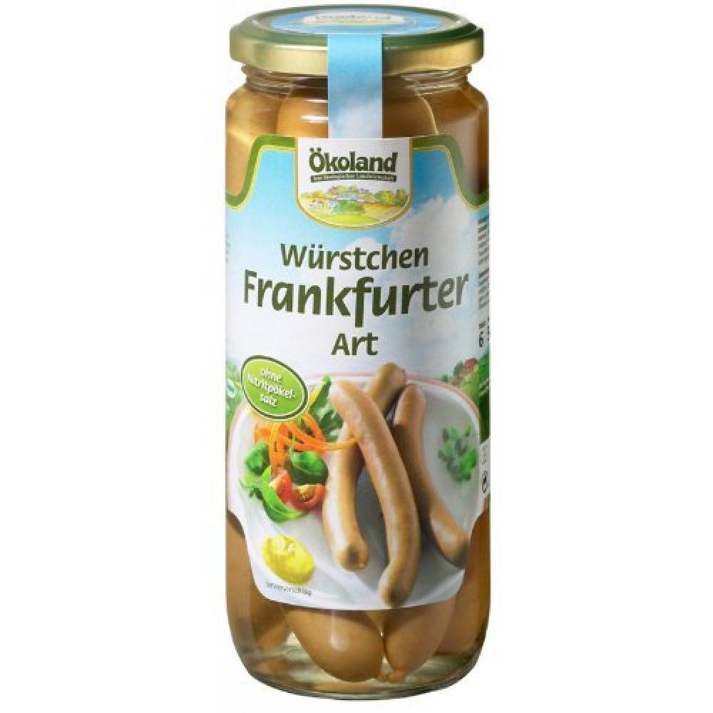 salsichas frankfurt bio
