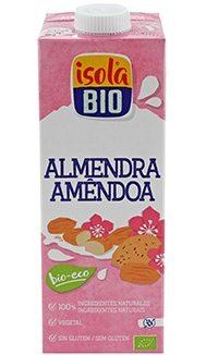 BEBIDA DE AMÊNDOA BIO ISOLA 1L