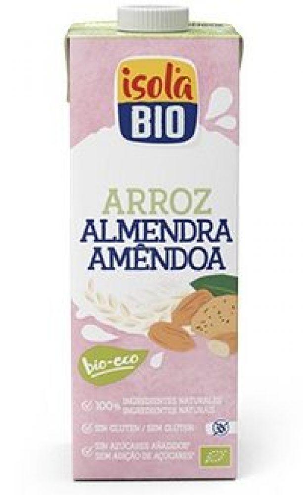 BEBIDA DE ARROZ COM AMÊNDOA BIO ISOLA 1L