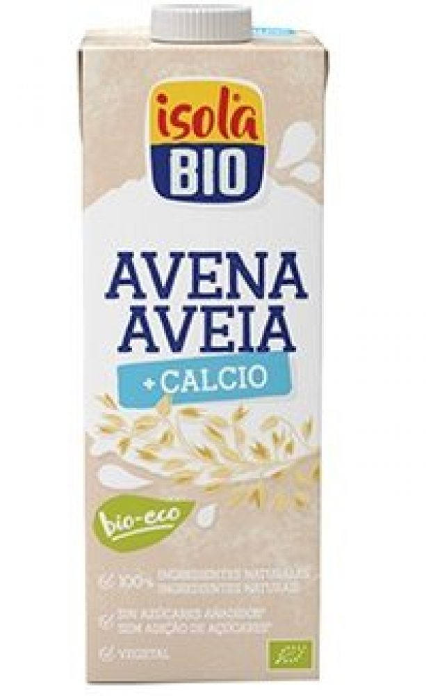 BEBIDA DE AVEIA COM CÁLCIO BIO ISOLA 1L