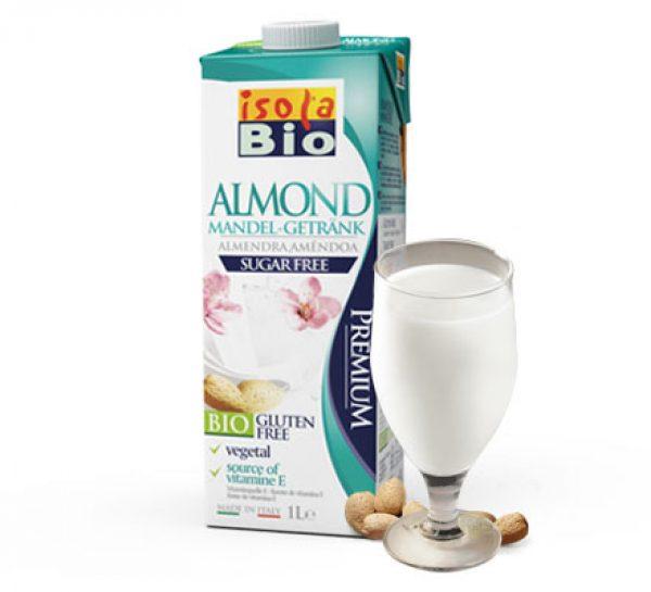 Bebida amendoa s/açucar isola