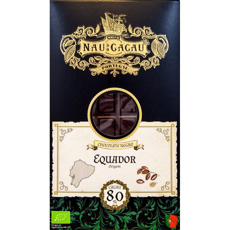 CHOCOLATE NAU DE CACAU EQUADOR 80%