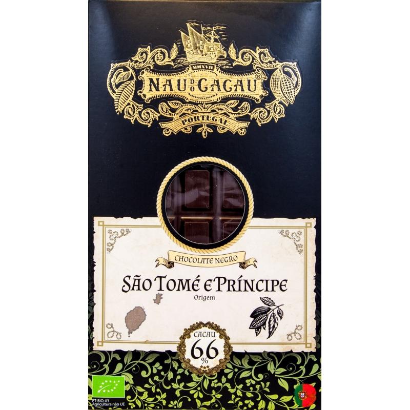 CHOCOLATE NAU DE CACAU SAO TOME 66%