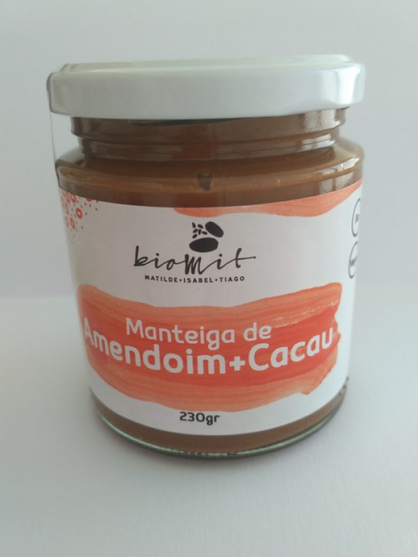 Manteiga de amendoim + cacau Biomit 230g