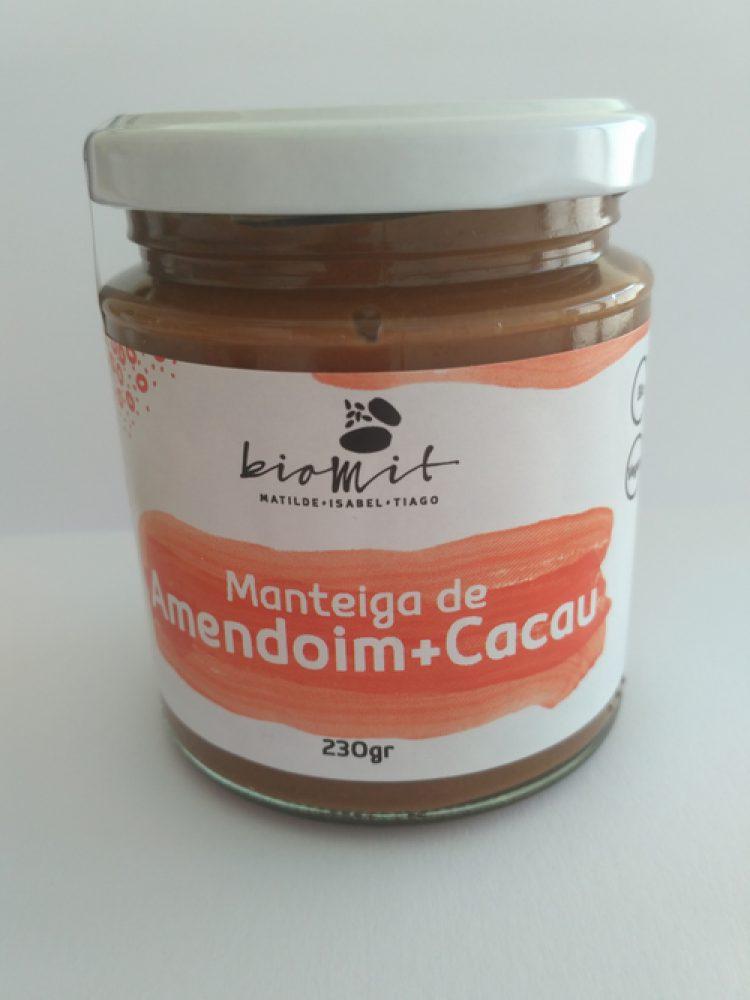 Manteiga de amendoim + cacau Biomit 230g