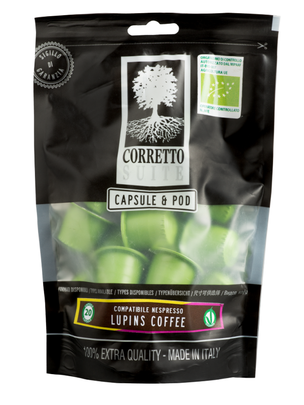 CAFÉ TREMOÇO BIO CORRETTO SUITE (20UNID.)