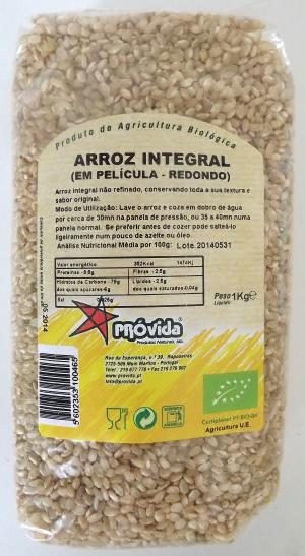 ARROZ INTEGRAL REDONDO BIO 1KG PROVIDA