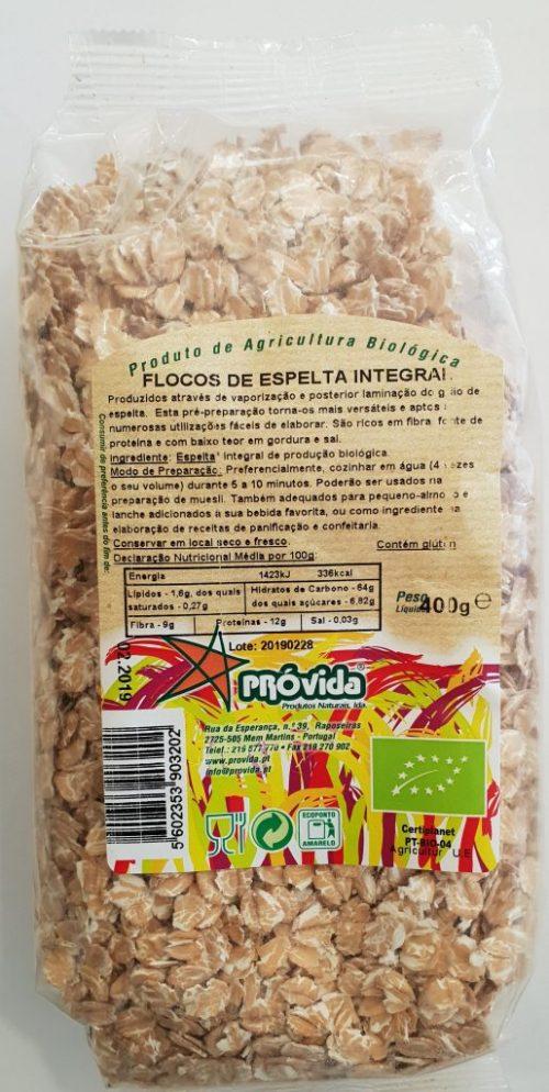 FLOCOS DE ESPELTA INTEGRAL BIO 400G