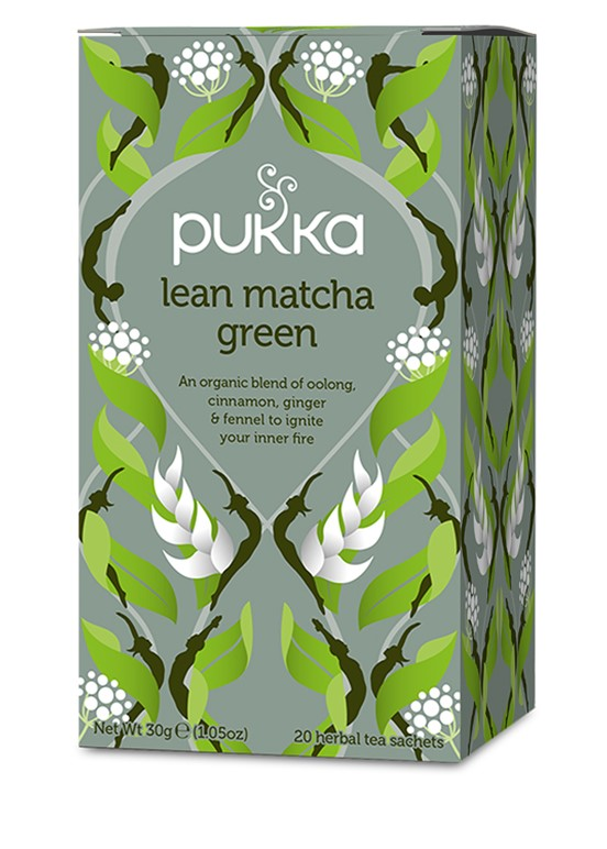 LEAN MATCHA GREEN BIO 20 SQ PUKKA