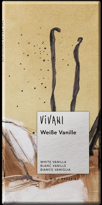 CHOCOLATE BRANCO C/BAUNHILHA BIO 80GRS VIVANI