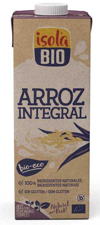BEBIDA DE ARROZ INTEGRAL BIO ISOLA 1L