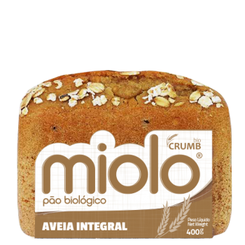PÃO DE AVEIA INTEGRAL BIO 400GR