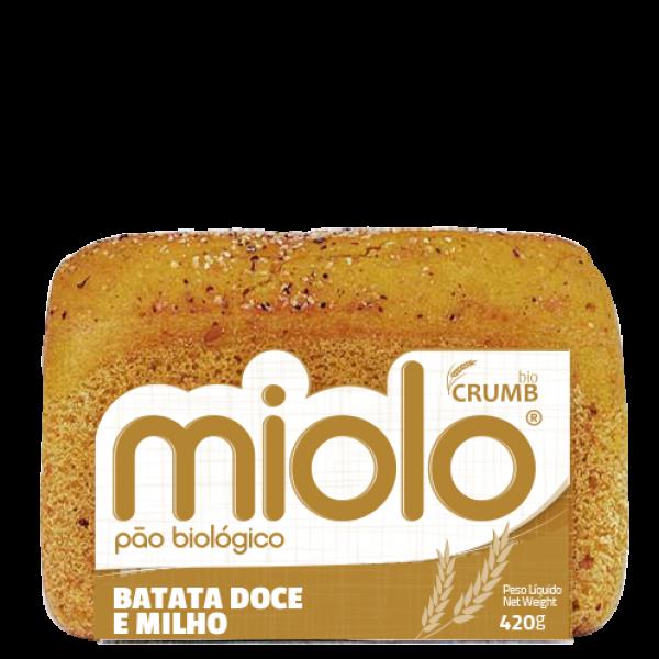 PÃO DE BATATA DOCE E MILHO BIO 420GR