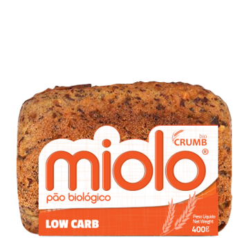 PÃO LOW CARB BIO 400GR