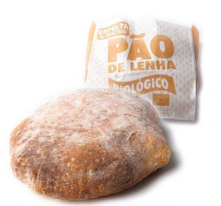 PÃO DE LENHA ESPELTA & CENTEIO 500GR