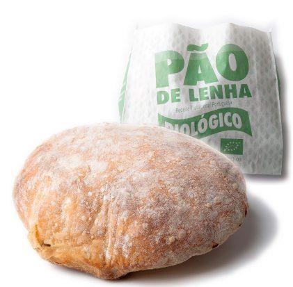 PÃO DE LENHA TRIGO BIO 500GR