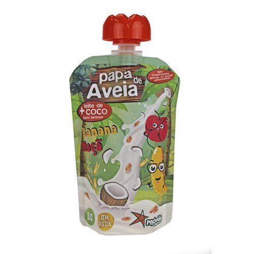 Papas de Aveia/Doypack Banana & Maçã S/Glúten