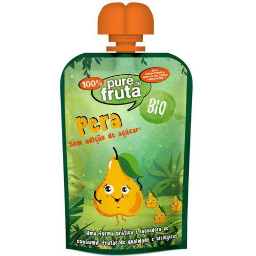 Puré Fruta/Doypack Pera S/Glúten BIO 100g