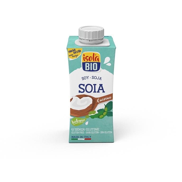 Creme de Soja (s/glúten) ISOLA BIO 200ml