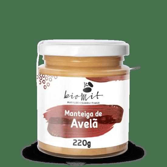 MANTEIGA DE AVELA BIOMIT 230G