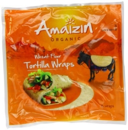 TORTILHA WRAP BIO 240G AMAZING