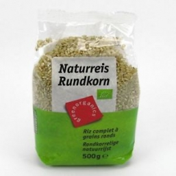 ARROZ NATURAL REDONDO 500GRS