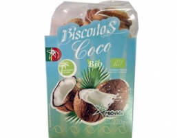 BISCOITOS COCO BIO 250G PROVIDA