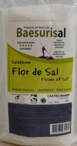 SACO  FLOR DE SAL BIO, 500G BAESURISAL
