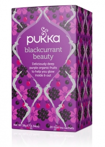 CHÁ BLACKCURRANT BEAUTY BIO 20 SQ PUKKA