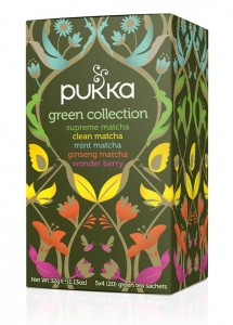 CHÁ GREEN COLLECTION BIO 20 SQ PUKKA