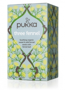 CHÁ TREE FENNEL BIO 20 SQ PUKKA