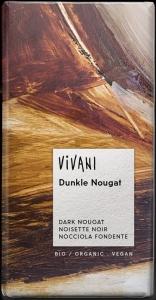 CHOCOLATE NOUGAT ESCURO BIO 100GRS VIVANI