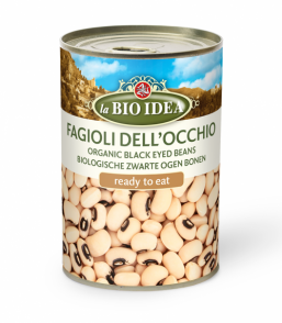 BLACK EYED BEANS LA BIO IDEA 400GRS