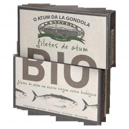 Filetes de Atum em Azeite virgem extra bio 120gr