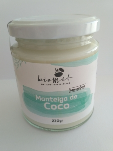 MANTEIGA DE COCO BIOMIT 230G