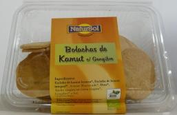 BOLACHA KAMUT COM GENGIBRE BIO 180G NATURSOL