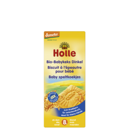 Biscoitos trigo e espelta 8M Bio 150g Holle