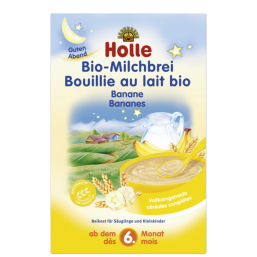 Papa láctea com banana Bio 250g Holle