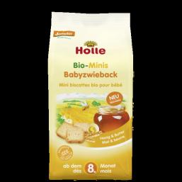 Tostas mini mel manteiga 8M Bio 100g Holle