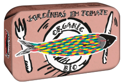 SARDINHA EM TOMATE BIO 120GR