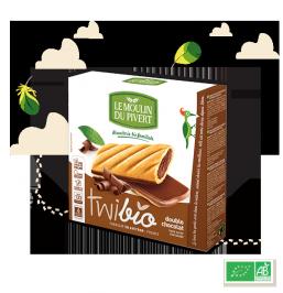 BISCOITOS  DOUBLE CHOCOLATE BIO TWIBIO