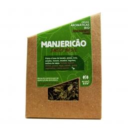 MANJERICÃO SECO BIO 12G ERVAS DA ZOE
