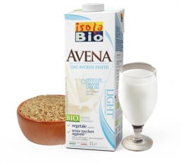 BEBIDA DE AVEIA LIGHT BIO ISOLA 1L