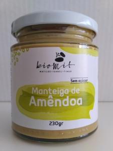 Manteiga de amêndoa Biomit 230g