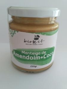Manteiga de amendoim + côco Biomit 230g